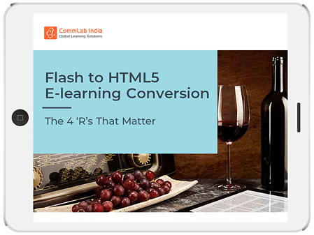 Flash to HTML5 eLearning Conversion: The 4 'R's That Matter
