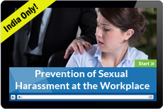 Prevention of Sexual Harassment at the Workplace