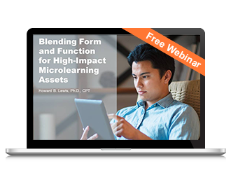 Blending Form and Function for High-Impact Microlearning Assets