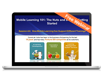 Free Webinar: How Mobile Learning Can Support Different Trainings